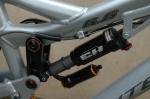 Amortisseur X-Fusion préparé Exhauss Racing