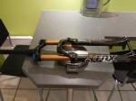Fox 32 Talas RLC Fit Kashima 120-150 pivot conique avec axe de 15mm - 1773g