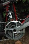Pédalier triple XTR 2012, pour les Alpes