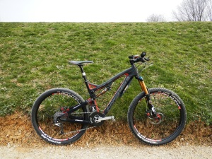 Carbine SL, Asterion XC, configuration All-Mountain 2013